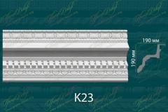 Карниз с орнаментом К23 <br/> 1 550 руб за м.п.