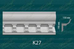 Карниз с орнаментом К27 <br/> 1 650 руб за м.п.