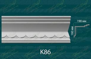Карниз с орнаментом К86 <br/> 1 220 руб за м.п.