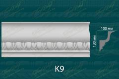 Карниз с орнаментом К9 <br/> 950 руб за м.п.