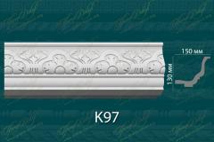 Карниз с орнаментом К97 <br/> 930 руб за м.п.