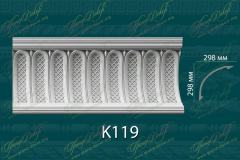 Карниз с орнаментом К119 <br/> 2 290 руб за м.п.