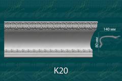 Карниз с орнаментом К20 <br/> 960 руб за м.п.