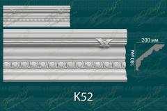Карниз с орнаментом К52 <br/> 1 370 руб за м.п.