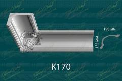 Карниз с орнаментом К170 <br/> 1 250 руб за м.п.