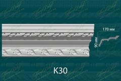 Карниз с орнаментом К30 <br/> 1 440 руб за м.п.